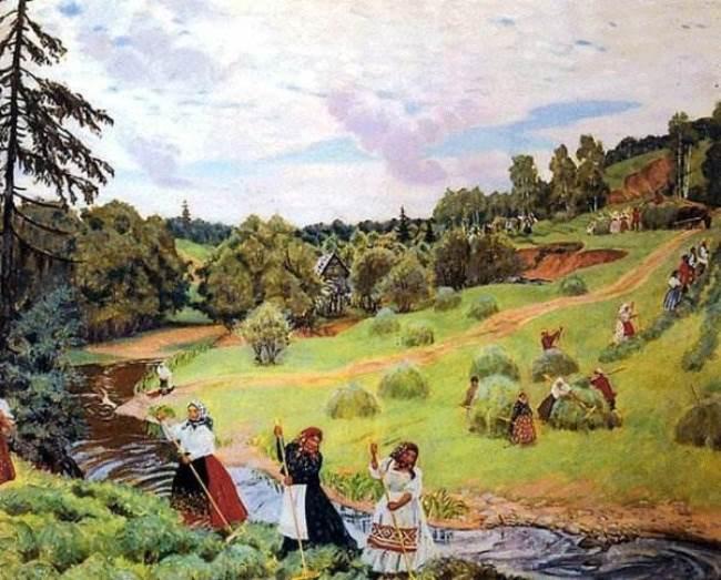Boris Kustodiev – Russian artist