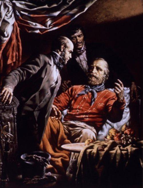 Sergei Prisekin Pirogov and Garibaldi