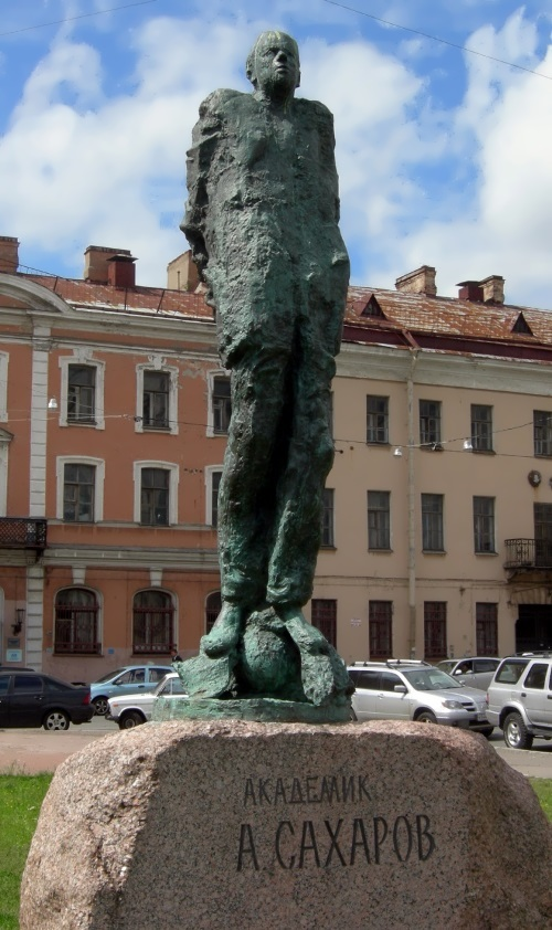 Sakharov Square in St. Petersburg