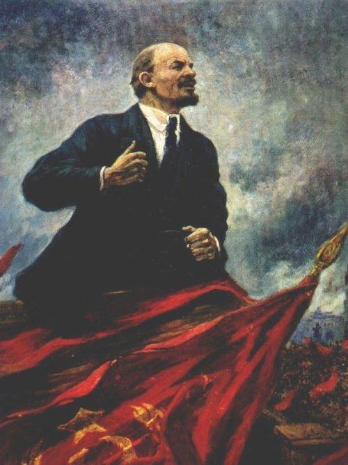 Vladimir Lenin Leader of the proletarian revolution