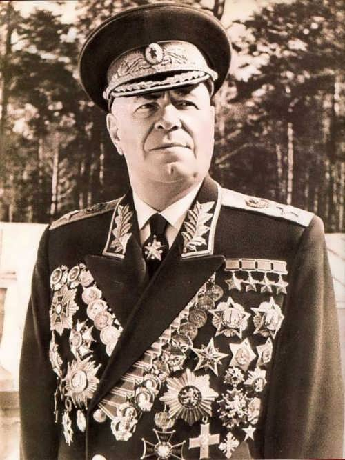 Zhukov - brave soldier and devoted son of his country