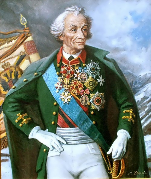 Alexander Vasilyevich Suvorov one of the most outstanding military leaders of Russia