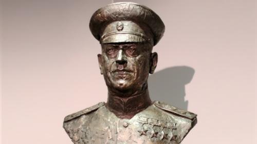 Bust of Zhukov
