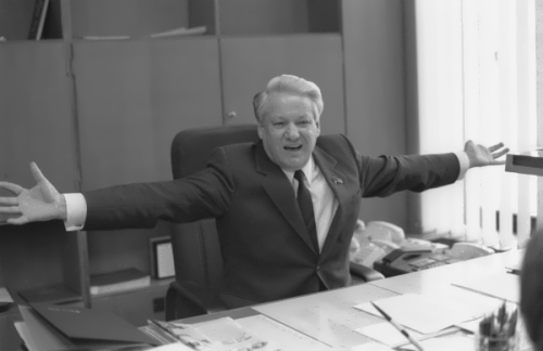 B. Yeltsin – first president of Russia