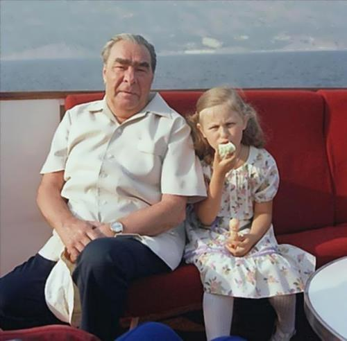 Brezhnev - president of the Soviet Union