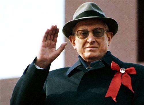 Yuri Andropov godfather of perestroika
