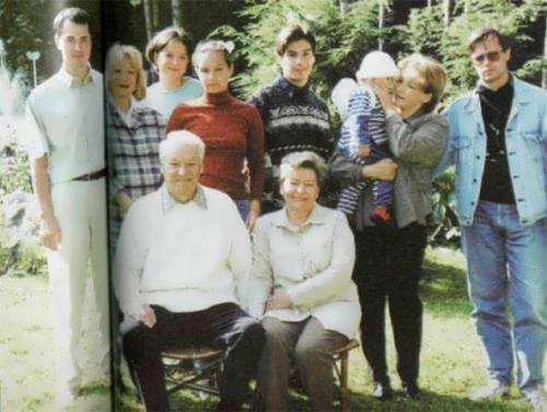 Yeltsin and his family