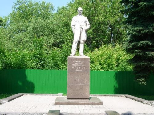 Monument to N. Vtorov in Elektrostal