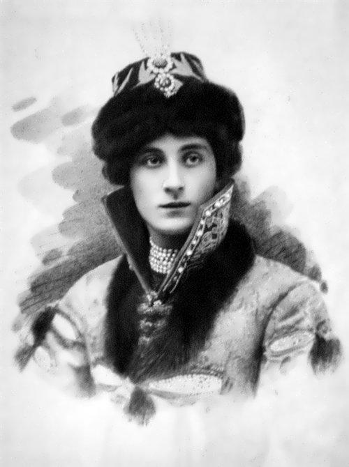 Prince Felix Yusupov in Russian Costume, 1910