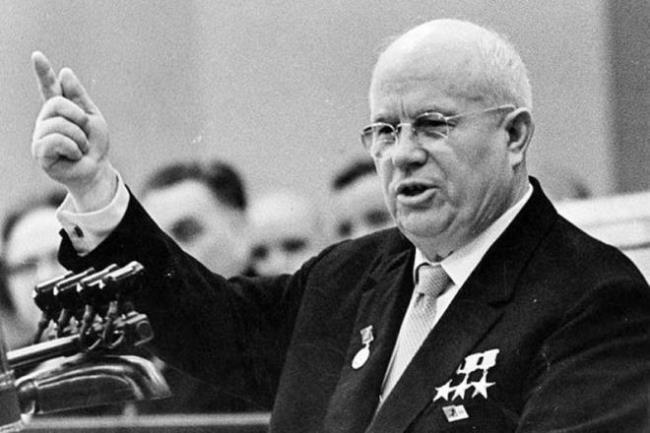 Nikita Khrushchev – Soviet leader