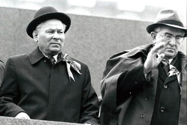 Yuri Andropov and Chernenko - Russian Personalities