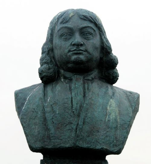 Bust of Bering