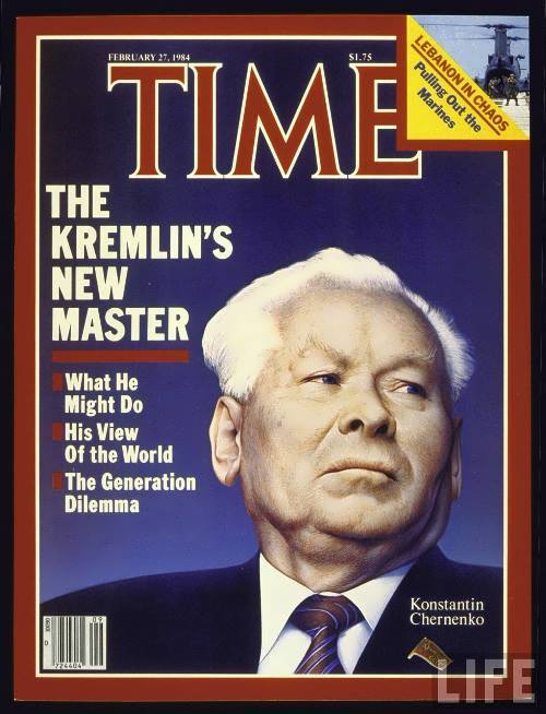 Chernenko on Time cover