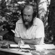 Alexander Solzhenitsyn – far-reaching thinker