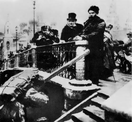 Shevchenko and Shchepkin in Moscow, 1858