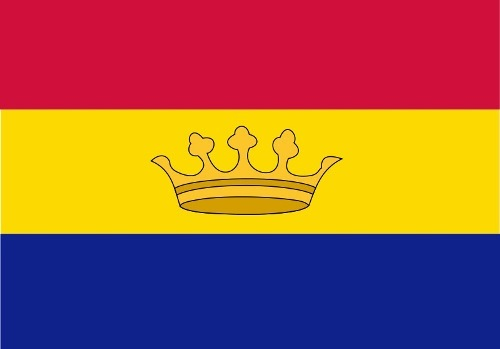 Flag of Andorra adopted by Skosyrev