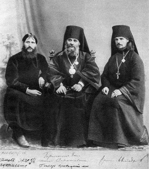 Grigori Rasputin, Hermogenes (Dolganev), Heliodorus (Trufanov)