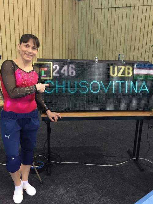 Oksana Chusovitina great gymnast