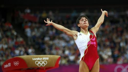 Oksana Chusovitina - Soviet, Uzbek and German gymnast