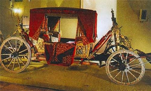Carriage of Boris Godunov. 17 century, Armouries. Moscow Kremlin