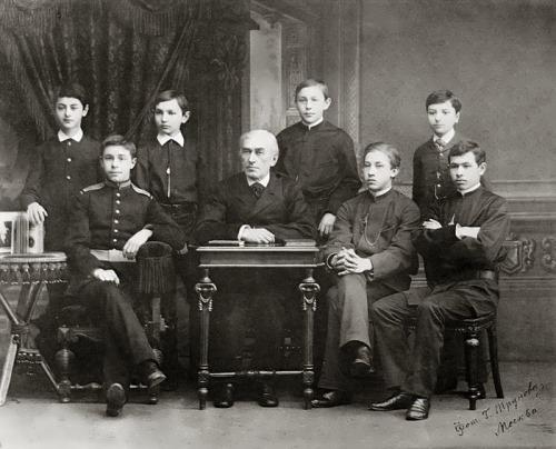 Alexander Scriabin student of Leonid Maximov