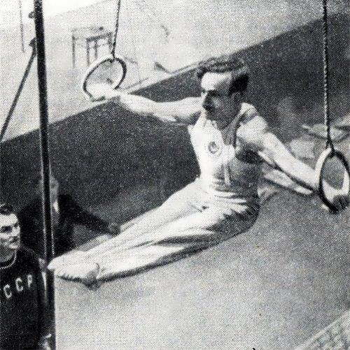 Hrant Shahinian Soviet gymnast