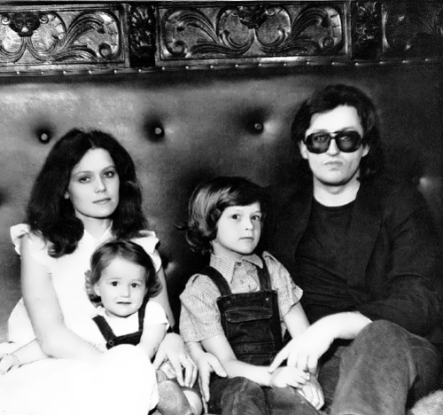 Alexander, Olga Fartysheva and their children