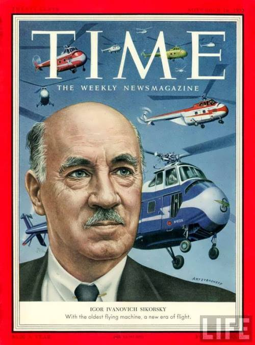 Sikorsky on the cover of Time magazine
