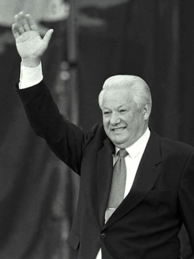 Boris Yeltsin – first Russian president