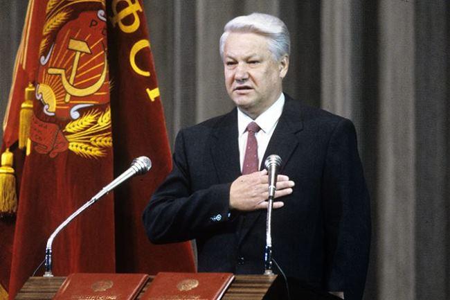 Boris Yeltsin – first Russian president