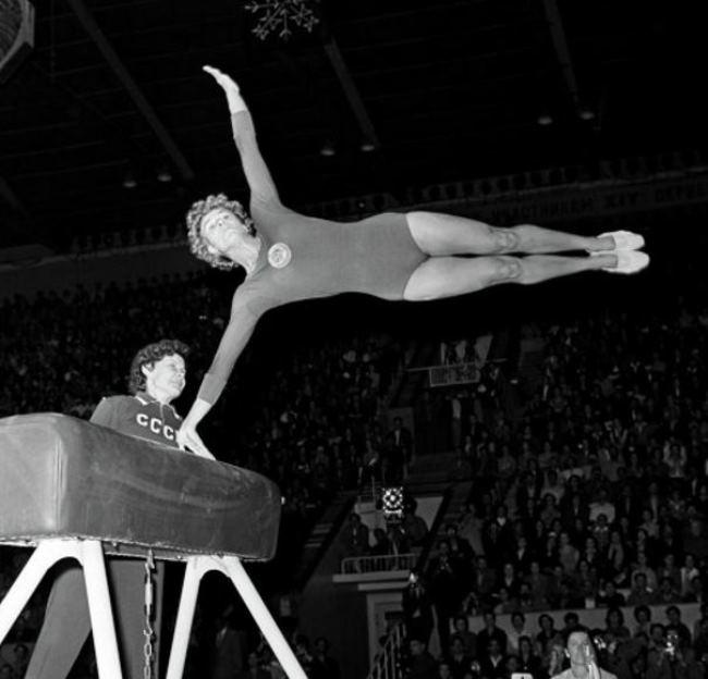 Larisa Latynina – Soviet gymnast