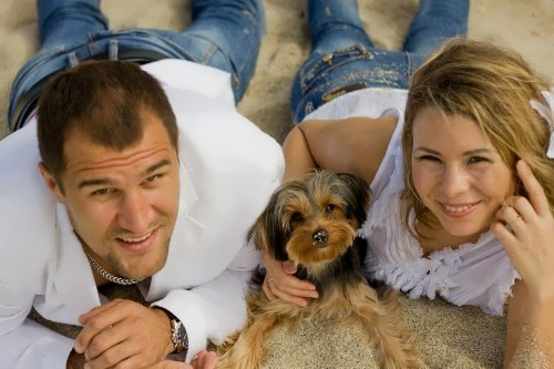 Kovalev and his wife Natalia