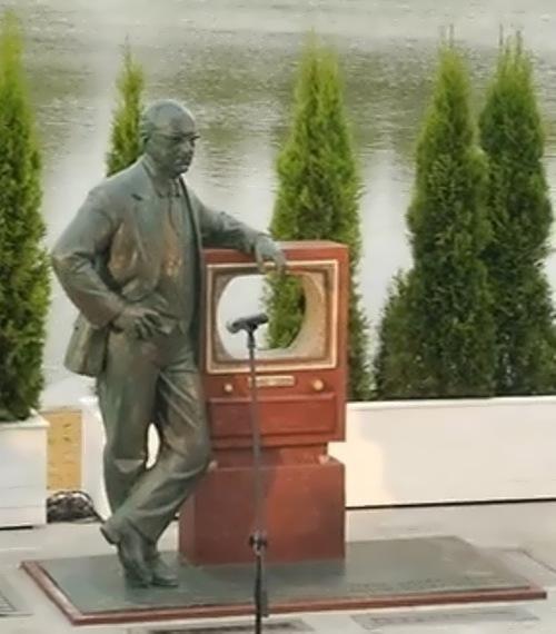 Monument to Zworykin