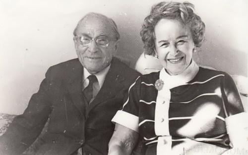 Zworykin and his wife Ekaterina Polevitskaya