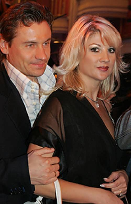 Inna and Andrei Kanchelskis