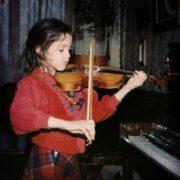 Nifontova in her childhood