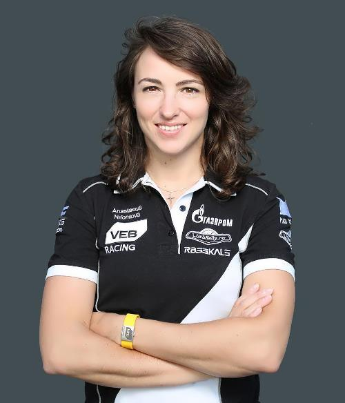 Anastasia Nifontova Russian biker