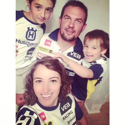 Nifontova and her family