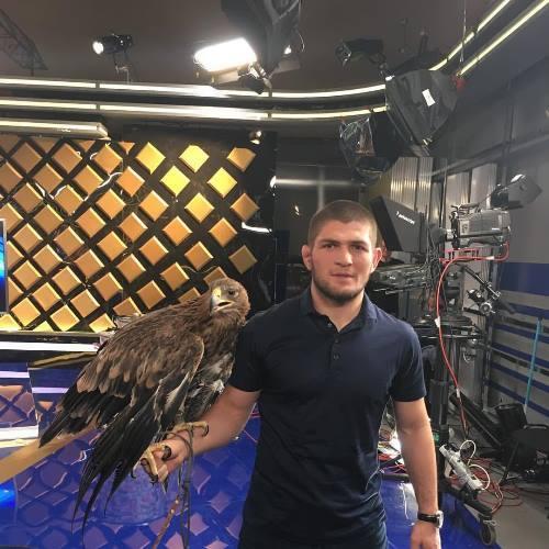 Nurmagomedov - professional Russian athlete