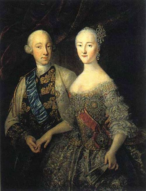 Peter III and Catherine II