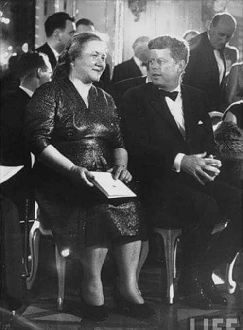 John F. Kennedy and Nina Kukharchuk