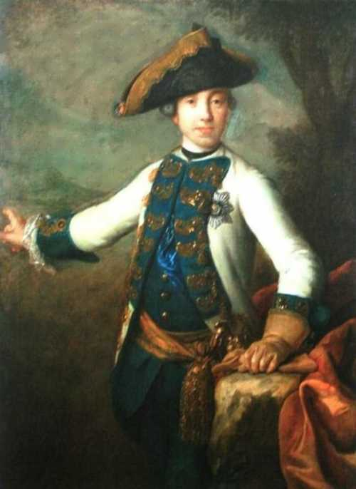 Portrait of Grand Duke Peter Fedorovich
