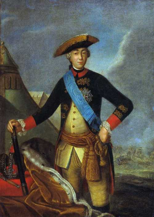 Portrait of Peter III, Fedor Rokotov