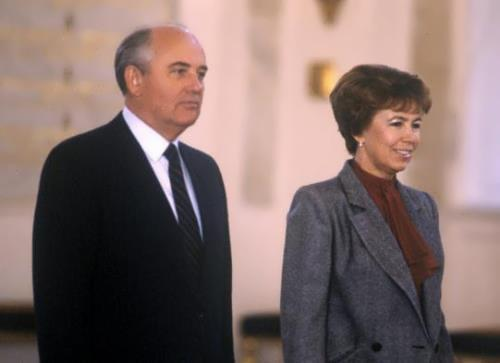 Mikhail and Raisa Gorbacheva