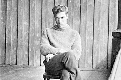 Boris Pasternak in his youth