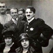 Charlie Chaplin and Vaslav Nijinsky