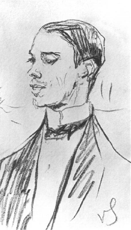 Valentin Serov Vaslav Nijinsky