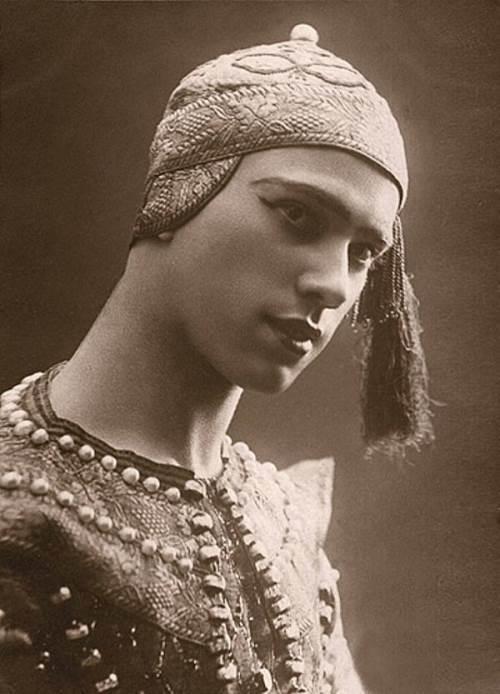 Vaslav Nijinsky outstanding ballet dancer