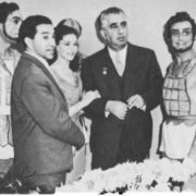 A. I. Khachaturyan and participants of the ballet Spartacus