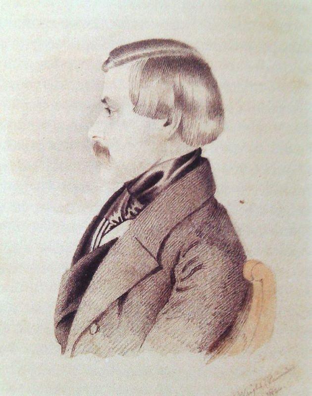 Alexander Nikolaevich Karamzin (1815-1888) by Thomas Wright